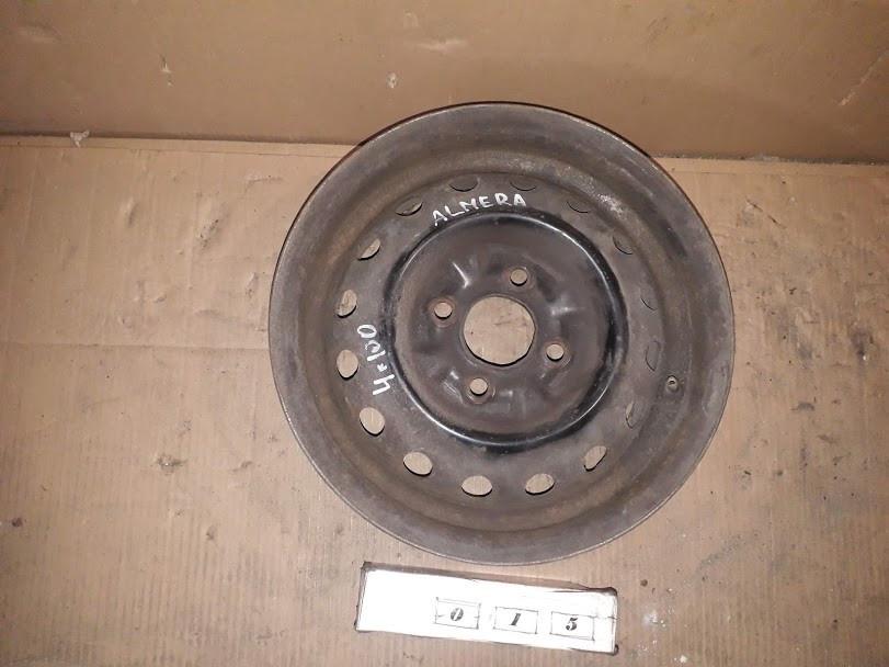№15 Б/у диск R13  4x100  ET40 для Nissan Almera 1995-2000 №15