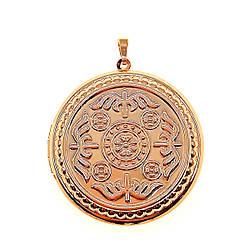 Медальйон Xuping из медицинского золота, позолота 18К, 42408       (1)