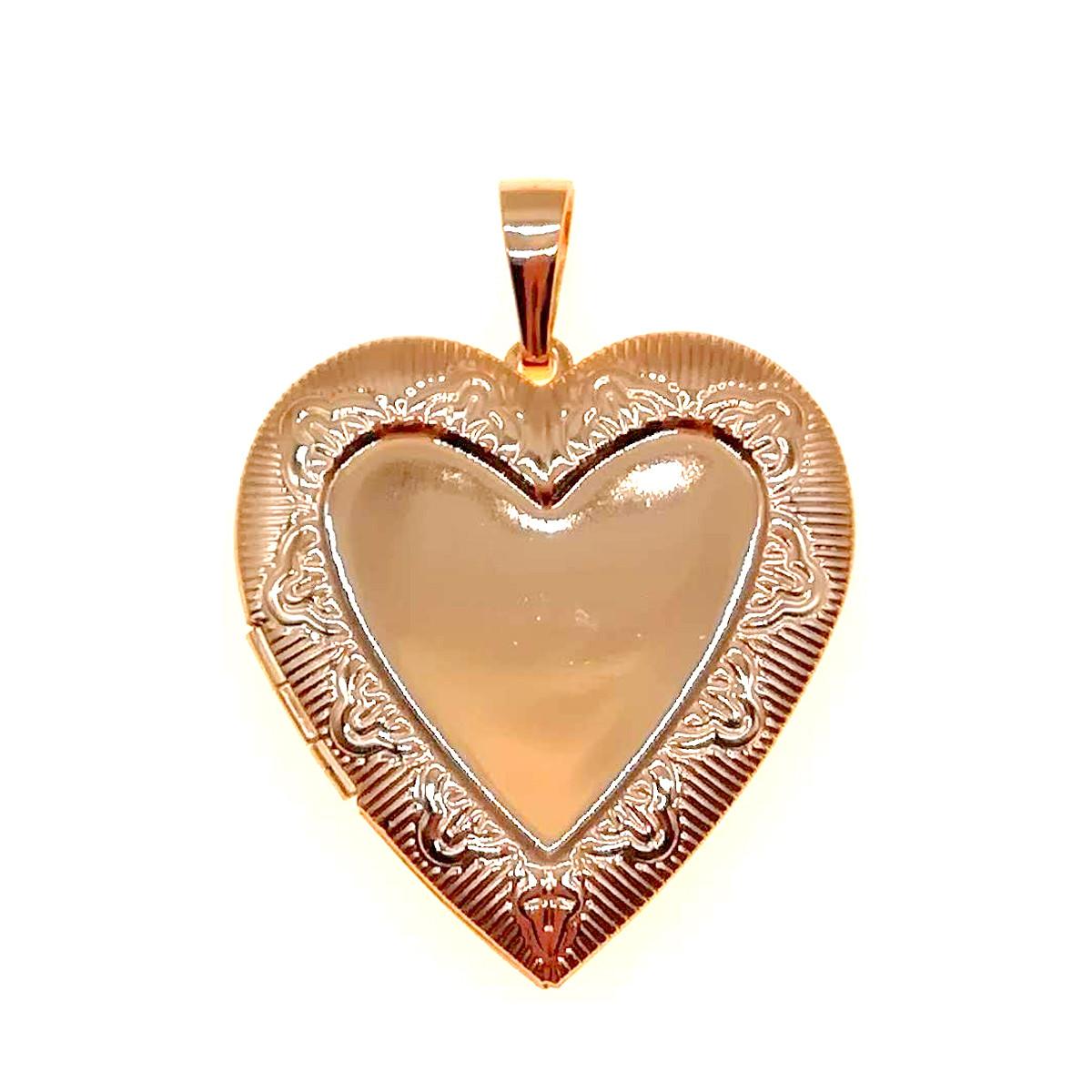 Медальйон Xuping з медичного золота, позолота 18K, 42427 (1)
