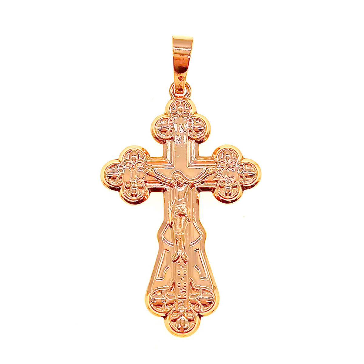 Крестик Xuping из медицинского золота, позолота 18K, 42423       (1)