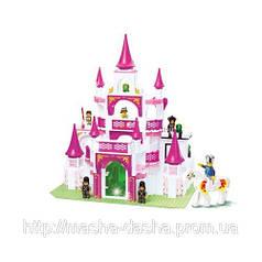 Конструктор SLUBAN Розовая мечта Дворец M38-B0151, 508 деталей