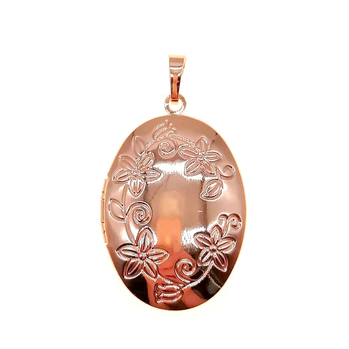 Медальйон Xuping из медицинского золота, позолота PO, 42432       (1)