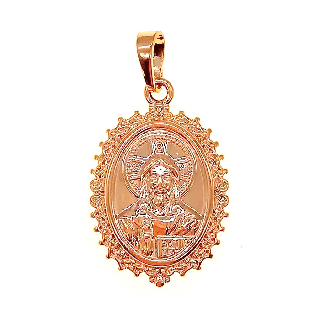 """Иконка Xuping """"Господь Вседержитель"""" из медицинского золота, позолота 18K, 42449       (1)"""