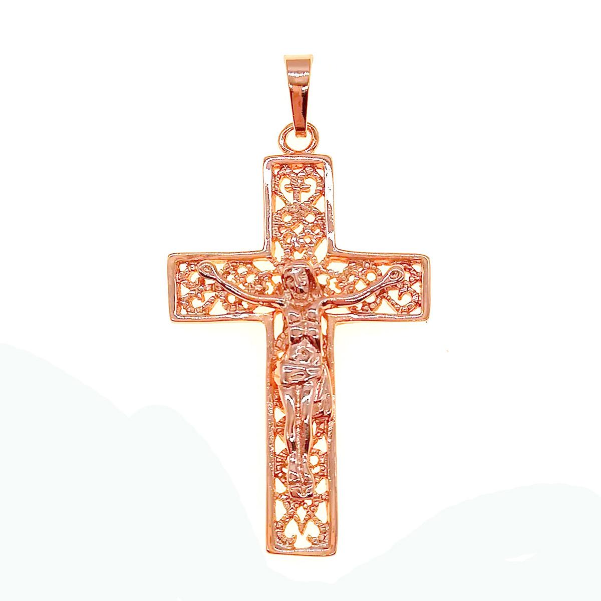 Крестик Xuping из медицинского золота, позолота PO, 42282       (1)