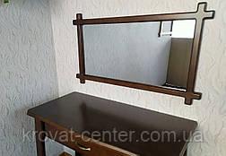 """Зеркало в деревянной рамке для прихожей, спальни, гостиниц """"Жаклин"""" (цвет на выбор), фото 2"""