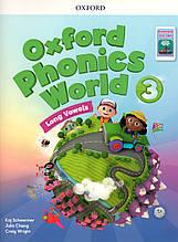 Учебник  Oxford Phonics World 3 Student's book + App Pack