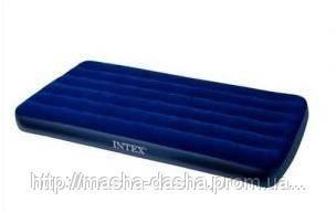 Одноместный надувной матрас Intex 68757, размер 99х191х22 см, без встроенного насоса, фото 2