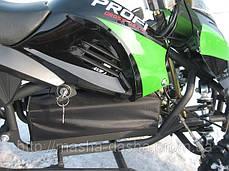 Детский квадроцикл Profi HB - 6 EATV 500W черно-зеленый с фарой, фото 3