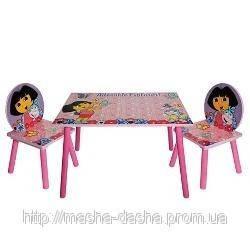 Детский стол и 2 стульчика Даша следопыт J 002-051, фото 2