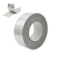 Скотч алюминиевый высокотемпературный (Арсенал Д)_50мм_40 м и другие