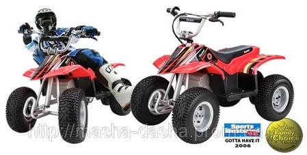 Детский квадроцикл Razor Dirt Quad, фото 2