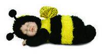 Пчелка. Куклы Anne Geddes (Анны Геддес) 30см