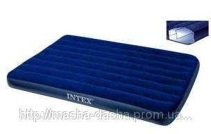 Надувной матрас Intex 68758, размер 137х191х22 см, без встроенного насоса