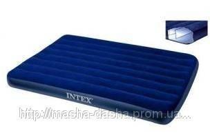 Надувной матрас Intex 68758, размер 137х191х22 см, без встроенного насоса, фото 2