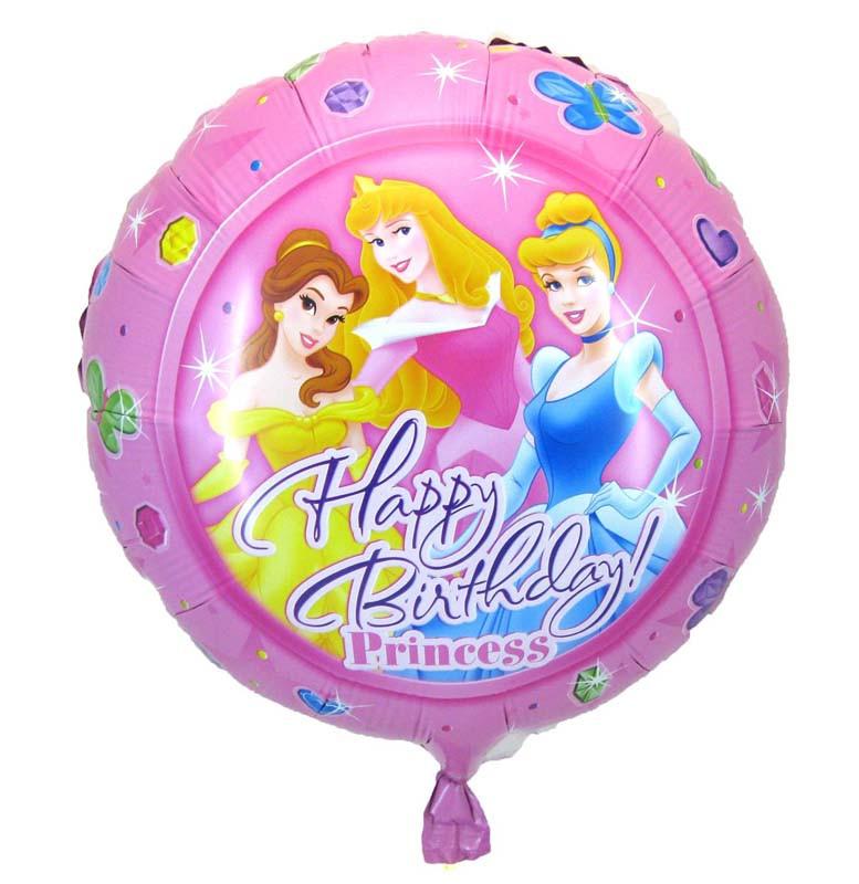 """Фольгированный шар   Круг 18"""" """"Принцессы Дисней"""""""
