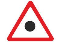 Дорожный знак 1.41 Место (участок) концентрации дорожно-транспортных происшествий .ДСТУ