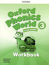 Робочий зошит Oxford Phonics World 3 Work book