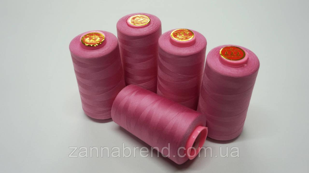 Катушка розовой нити