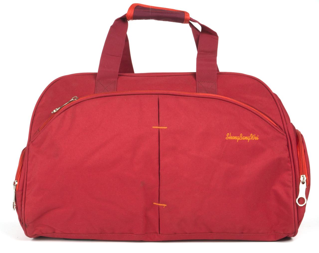 Стильная прочная спортивная сумка ShengBangWei art. 8091-2 красная