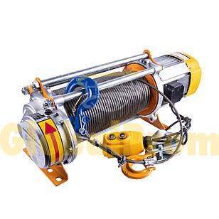 Лебедка электрическая KCD 750/1500 кг 50/100 м