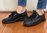 Кеди жіночі Inshoes чорні, фото 3