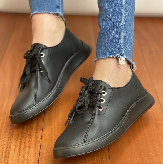 Кеди жіночі Inshoes чорні
