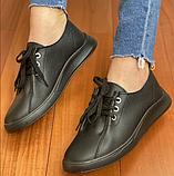 Кеди жіночі Inshoes чорні, фото 4