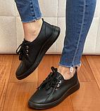Кеди жіночі Inshoes чорні, фото 5