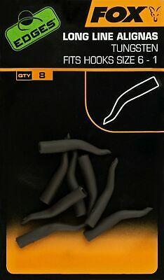 Лентяйка FOX Edges Tungsten Line Aligna Long sizes 6-1 x 8pcs