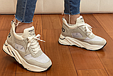 Кросівки жіночі Inshoes бежеві, фото 6