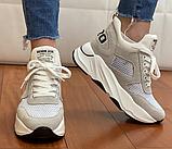 Кросівки жіночі Inshoes бежеві, фото 2