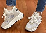 Кросівки жіночі Inshoes бежеві, фото 5