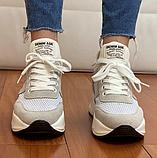 Кросівки жіночі Inshoes бежеві, фото 4