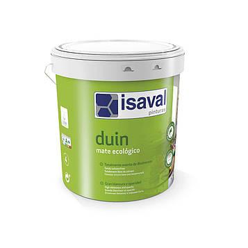 Краска матовая экологическая гипоаллергенная ДУИН ISAVAL 15л до 150м2