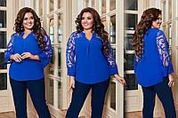 """Нарядная блузка  для пышных дам  """"Адель""""  Dress Code, фото 1"""