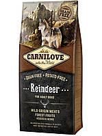 Корм Карнилав Адалт Рейндер Carnilove Adult Reindeer беззерновой для собак с северным оленем 12 кг