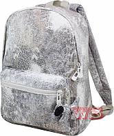 Рюкзак молодежный Winner Stile 29*13*40 (серебряный)