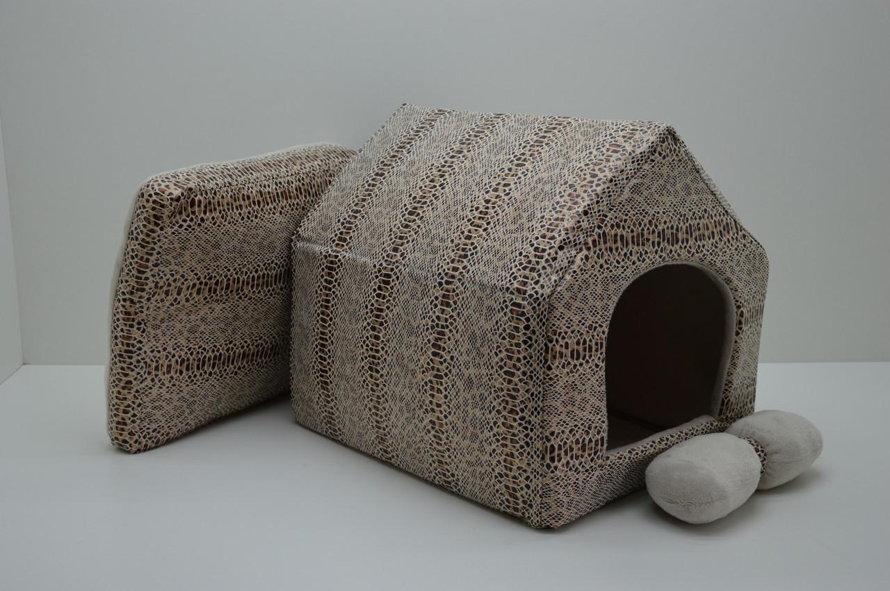 Домик для котов и собак Зима №3 385х480х430