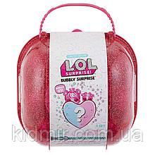 Валіза ЛОЛ шипучий сюрприз з серцем рожевий L. O. L lol Surprise! 558378