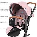 Коляска детская прогулочная INCITY ME 1068 Pale Pink розовый, фото 2