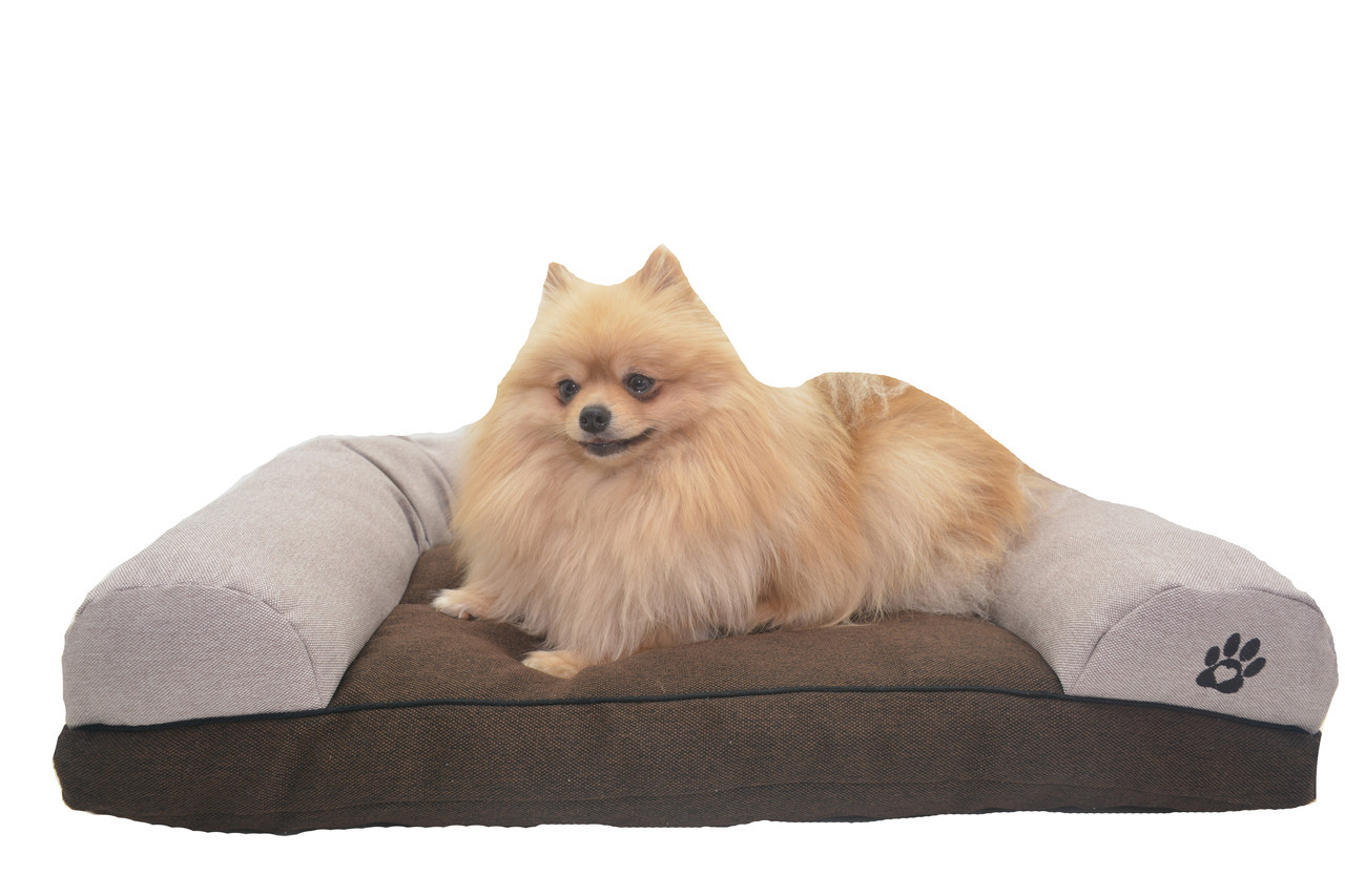 Диван для собак и котов Лофт коричневый №1 300х400х180