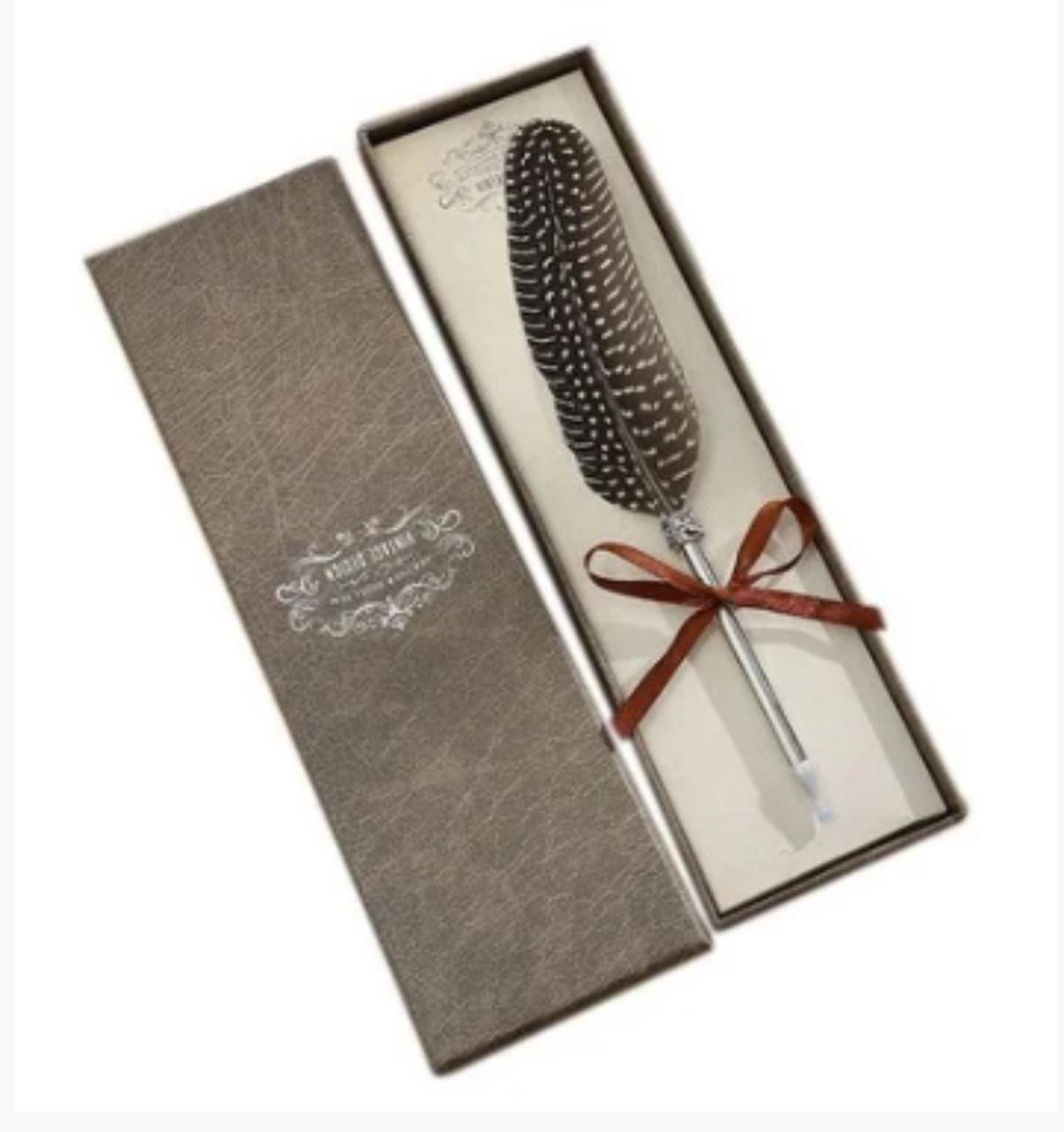 Ручка чернильная Перо фазана