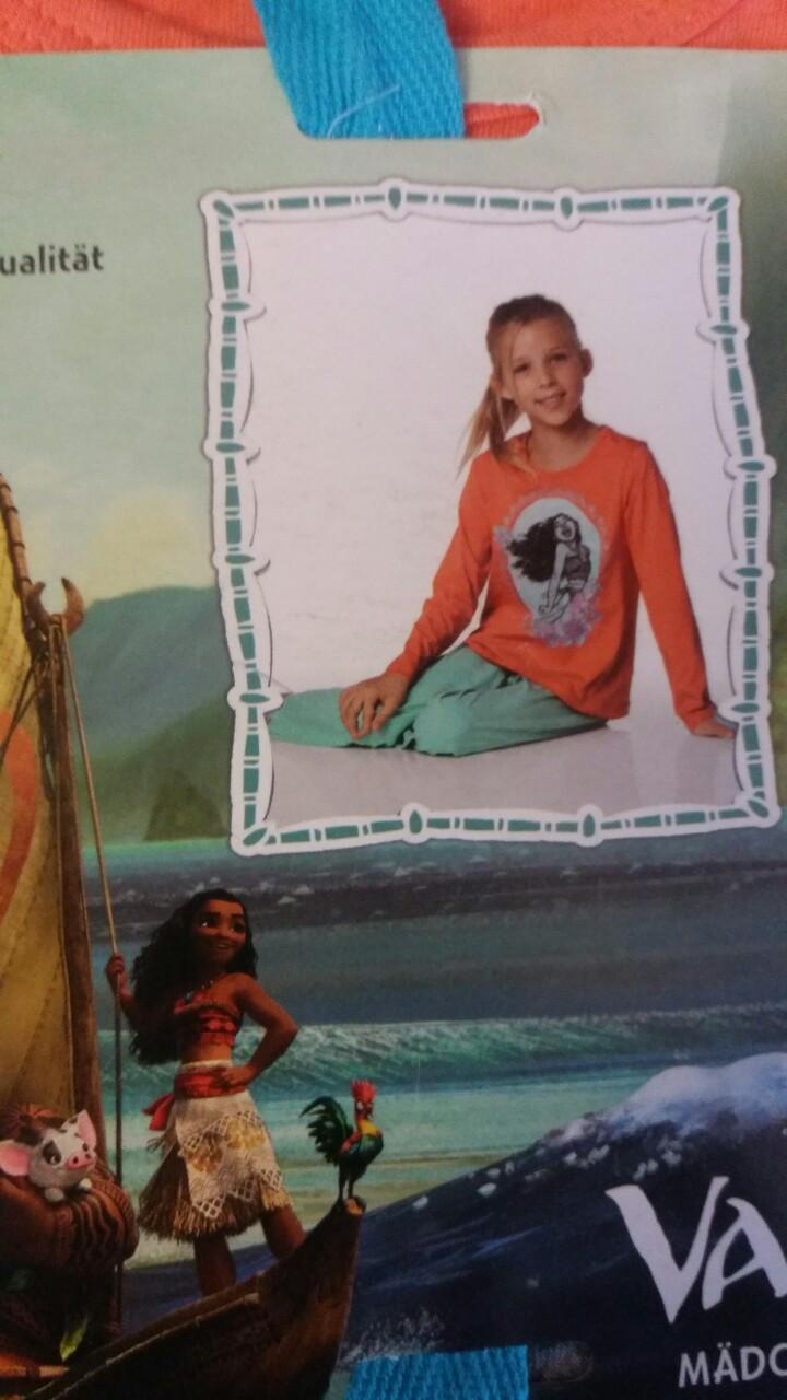 Пижама трикотажная для девочки, размеры 98/104,110/116, Lupilu, арт. 316
