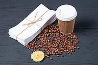 Бумажные пакеты для упаковки чая и кофе 100мм*30мм*230 мм белый