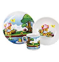 Комплект детский Lubiana, декор - Медвежонок ( арт:6755)