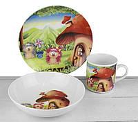 Комплект детский Lubiana декор Грибочек 6754