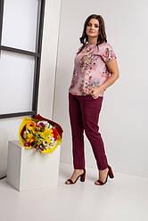 Женский брючный костюм размеры  44-46,48-50,52-54,56-58,62-64