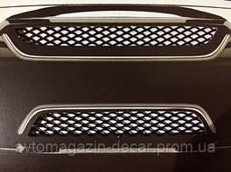 Сетка декоративная №2 100х20см черная (Elegant)  в упаковке  511022   (50шт/уп)