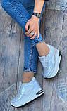 Серые классные женские кроссовки 39, фото 3