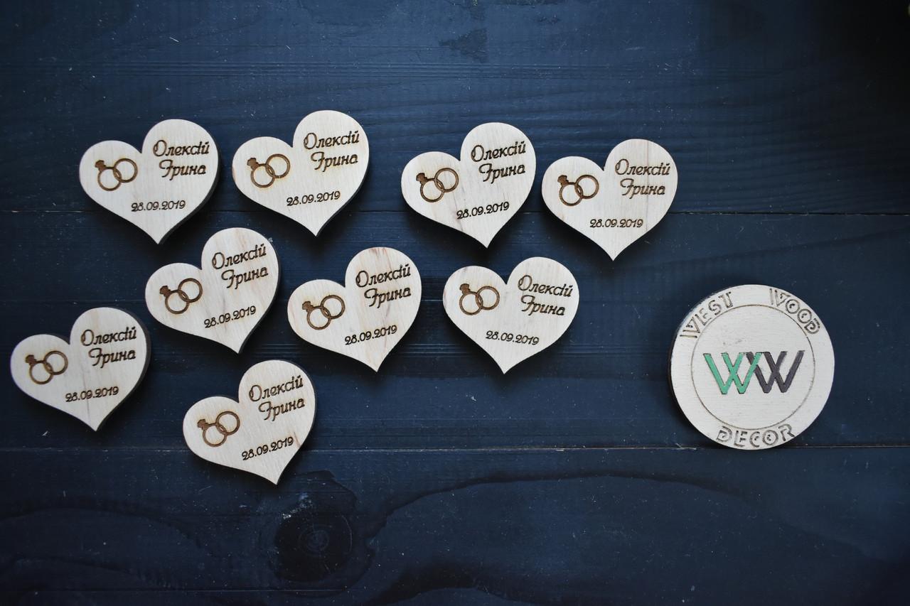 Свадебные фишки с именами и датой, бирки, презент гостям, пригласительные, валюта для конкурсов, призы. Кольца